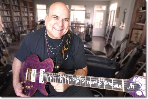 Dr Joe Vitale with the Healing Guitar